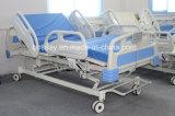 Cama de hospital eléctrica de cinco funciones con el CPR