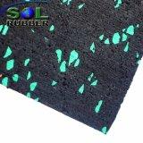 Stuoia della pavimentazione di ginnastica riciclata anti slittamento del rullo di gomma di forma fisica di EPDM