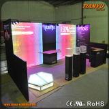 Publicidad del constructor de la cabina de la exposición de la feria profesional
