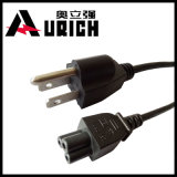 2개의 Pin 여성 남성 전원 연결관, 전력 코드 연장, 램프 소켓을%s 가진 소금 램프 전원