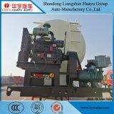 반 35cbm Hf 디젤 엔진 공기 압축기를 가진 대량 시멘트 수송 유조선 트레일러