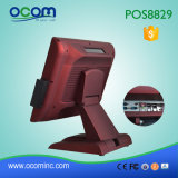 "15 "" One Cash Register POS System에 있는 이중 Screen All"