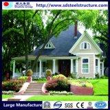 Almacén de la estructura de acero de acero de la luz de la Villa de lujo Casa Villa