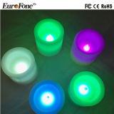 6 светов свечки воска парафина Multicolors размеров/комплектов для украшения