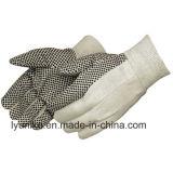 Пвх пунктирной сад перчатки и защитные перчатки полотенного транспортера