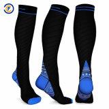 Новый стиль колена для женщин и высокой степени сжатия носки Спортивные носки полет носки движении носки