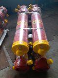 다단식 유압 호이스트 또는 면한 액압 실린더 또는 덤프 트럭 상승 액압 실린더