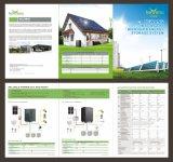 potencia de la iluminación del hogar del panel solar 1kw/3kw/5kw/sistema de energía reanudables