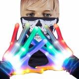 LED-Handschuhe Slepwel Handhandschuhe mit Lichtern für Halloween, Partei