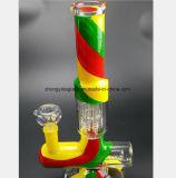 Farben-Kanone-Glaswasser-Rauch-Gewehr-Filter-Wiederanlauf-Wasser-Rohr