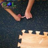 Stuoia di gomma di collegamento commerciale del pavimento di ginnastica di Crossfit