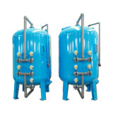 30000 Lph Water PLC Control Automatic Active Carbon Filter