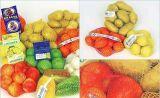 40X60 PE Weft трикотажные сетка мешок для продажи овощей и фруктов