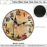 거실을%s 포도 수확 벽 커튼 시계