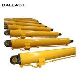 Cilindro Telescópico de Longo Alcance Mini escavadoras hidráulicas do cilindro hidráulico para máquinas de construção