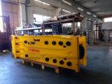 Soosan sb70 Top hidráulico de la excavadora de tipo abierto Rock Breaker con cincel de 135mm de diámetro 18-26Traje excavadora ton.