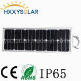 18W todos en un jardín de luz solar con un panel solar