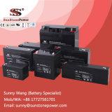 Bateria alternativa do AGM da bateria de armazenamento 6V da potência 9ah para o sistema de segurança