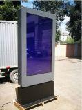 Киоск LCD Signage 65 цифров дюйма напольный