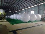 Gli aerostati di pubblicità gonfiabili bianchi del PVC arrotondano il professionista della sfera del diametro di 2m