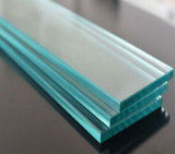 10mm het Aangemaakte Glas van de Veiligheid Gehard glas voor Treden