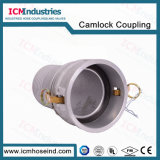 Tipo antistatico di alluminio connettori compositi del rotolo del tubo flessibile di C
