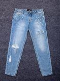 2018 Mulheres de cintura elevada clássico Denim Jeans Skinny