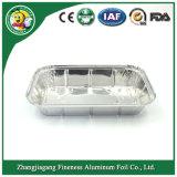 처분할 수 있는 음식 저장 알루미늄 호일 콘테이너