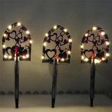 Утюг солнечной энергии искусства лопаты лампа