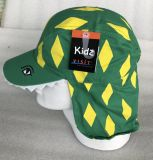 方法昇進の子供のオレンジニースPringtingのマントの帽子