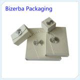 Luxe personnalisé carton blanc/emballage rigide boîte cadeau de bijoux de papier (BP-BC-0020)