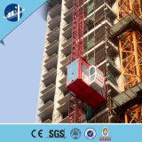 Xingdou Sc200/200/Elevação de construção de material de construção dos passageiros/elevação guincho para a construção