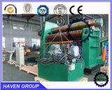 Machine de roulement de plaque en acier de machine à cintrer de rouleaux de TW12NC quatre