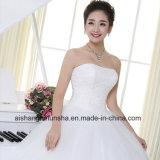 Платье венчания шнурка края сбор винограда секса Bridal Sequined