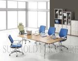 Mesa de conferência mesa de mesa de metal pé (SZ-MTA1007)
