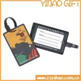 Etiqueta del equipaje del PVC de la necesidad que viaja (YB-t-010)