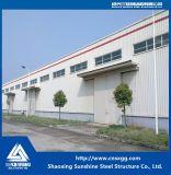 Estructura de acero 2017 Columna de bastidor con materiales de construcción para almacén