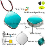 Carte SIM Portable Tracker GPS personnel avec appel d'urgence SOS A9