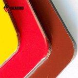 Décoration jaune orange partie bâtiment Panneau en aluminium de Front board (AE-38E)