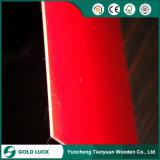 Сразу склеенное надувательство E1 приглаживает сторону/задний красный Hardboard