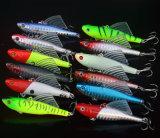 14G 6.5cm Vib Lure appâts de pêche s'attaquer avec des ailes