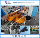 Gewölbte Rohr-Strangpresßling-Zeile Maschinerie, gewölbte Rohr-Plastikmaschinerie