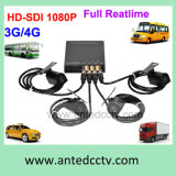 CCTV Monitoring 4 Channel Car Mobile DVR con 3G 4G GPS WiFi