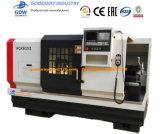 절단 금속 돌기를 위한 수평한 포탑 CNC 공작 기계 & 선반 Vck6163
