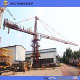 China-zuverlässiger Lieferant, zum der automatischen Turmkrane anzugeben und zu installieren