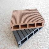 Revestimento ao ar livre do Decking composto plástico de madeira WPC de Skidproof