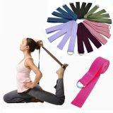 A nova correia de estiramento de ioga mulheres Multi-Colors anel D cinto de corda de um ginásio de Ginástica figura a circunferência da perna Resistência Bandas Fitness cinta de ioga de algodão