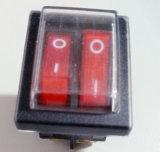 De Drukknop van Boat Rocker /Power Switch van de ventilator met Ce voor Heater voor Fan