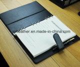 Le bloc-notes à couverture rigide en cuir pour les entreprises de produits laitiers de haute qualité