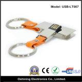 Bastone di cuoio di memoria del USB (USB-LT007)
